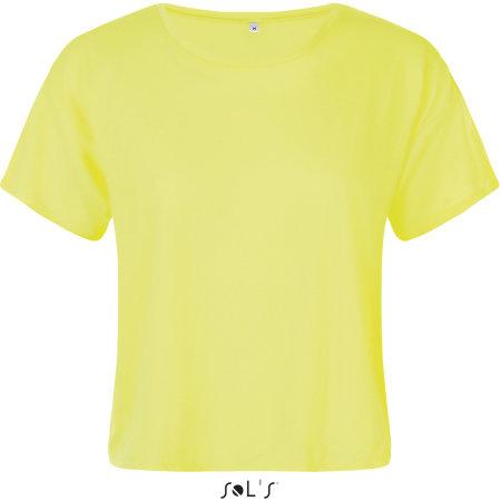 Maeva Tee-Shirt in Neon Yellow von SOL´S (Artnum: L01703