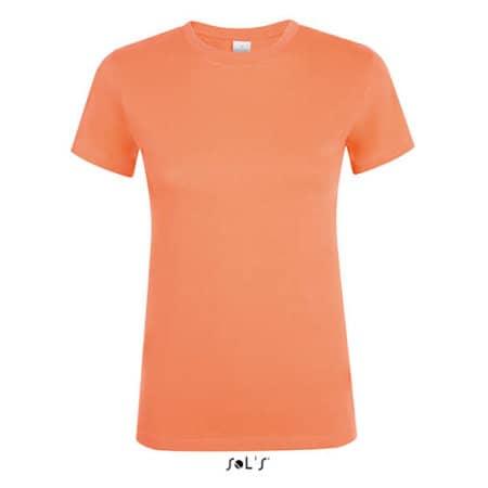 Regent Women T-Shirt in Apricot von SOL´S (Artnum: L01825