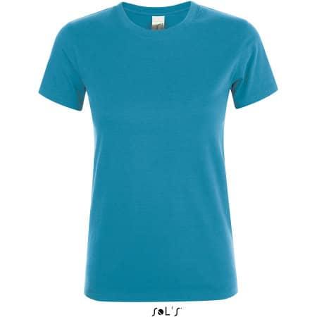 Regent Women T-Shirt in Aqua von SOL´S (Artnum: L01825