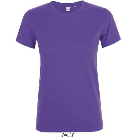 Regent Women T-Shirt in Dark Purple von SOL´S (Artnum: L01825