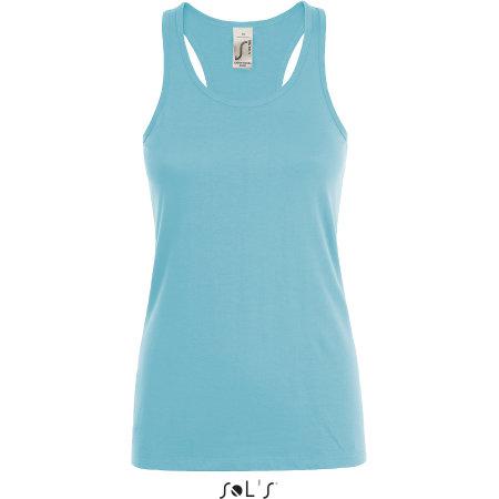 Justin Women Tee-Shirt in Atoll Blue von SOL´S (Artnum: L01826