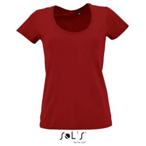 Women`s Low-Cut Round Neck T-Shirt Metropolitan