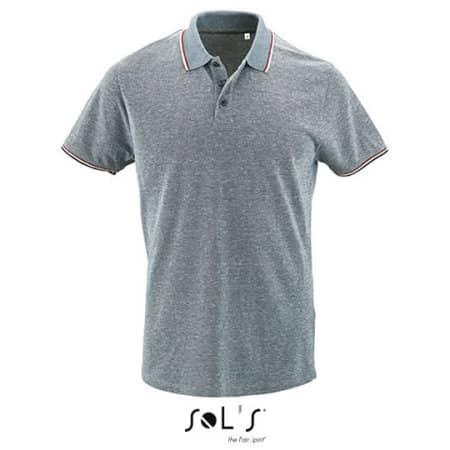 Men`s Heather Polo Shirt Paname von SOL´S (Artnum: L02081
