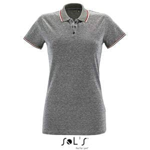 Women`s Heather Polo Shirt Paname