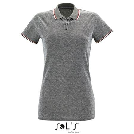Women`s Heather Polo Shirt Paname von SOL´S (Artnum: L02082