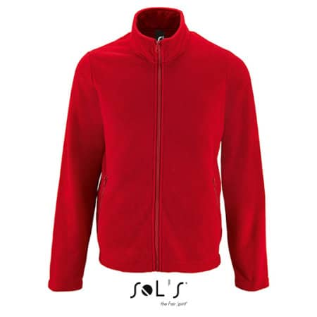 Men`s Plain Fleece Jacket Norman von SOL´S (Artnum: L02093