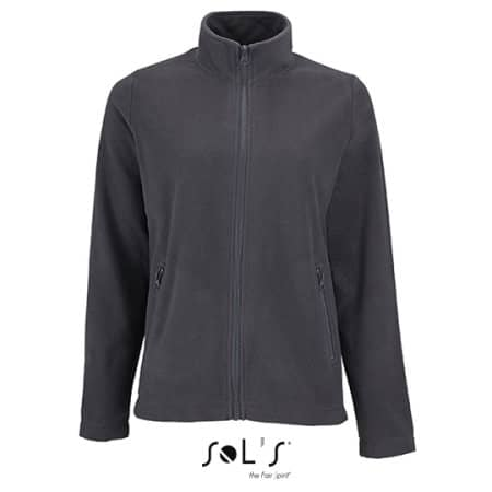 Women`s Plain Fleece Jacket Norman von SOL´S (Artnum: L02094