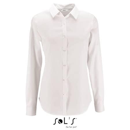 Women`s Herringbone Shirt Brody von SOL´S (Artnum: L02103