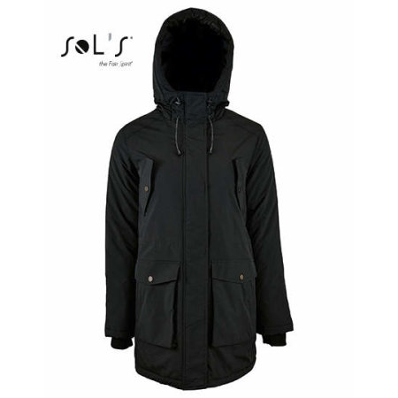 Women`s Warm and Waterproof Jacket Ross von SOL´S (Artnum: L02106