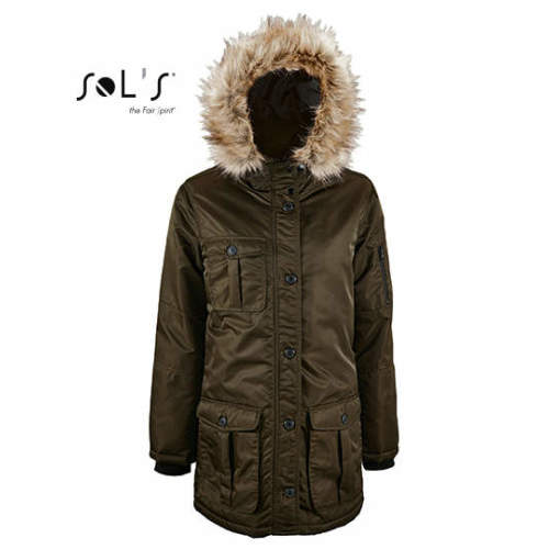 SOL´S - Women`s Warm And Waterproof Jacket Ryan