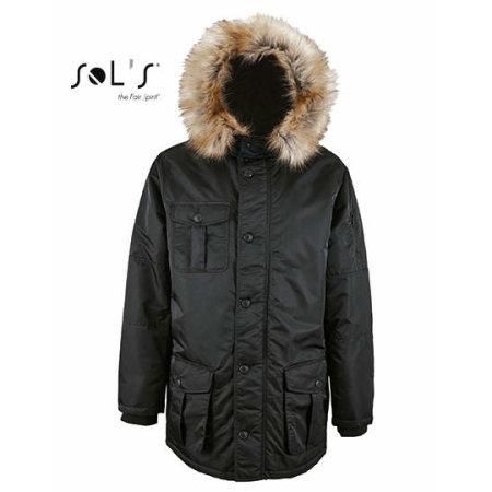 Men`s Warm and Waterproof Jacket Ryan von SOL´S (Artnum: L02108