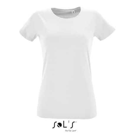 Women`s Round Neck Fitted T-Shirt Regent von SOL´S (Artnum: L02758