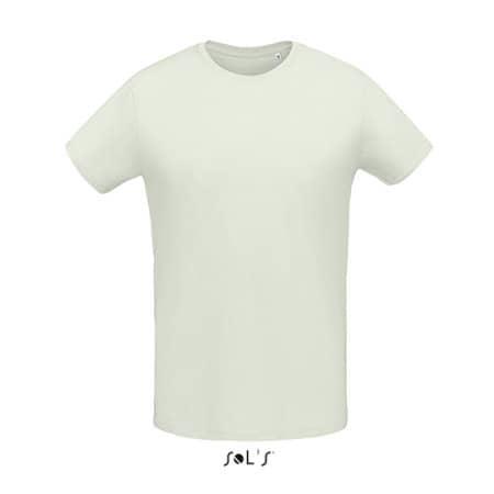 Martin Men T-Shirt in Creamy Green von SOL´S (Artnum: L02855