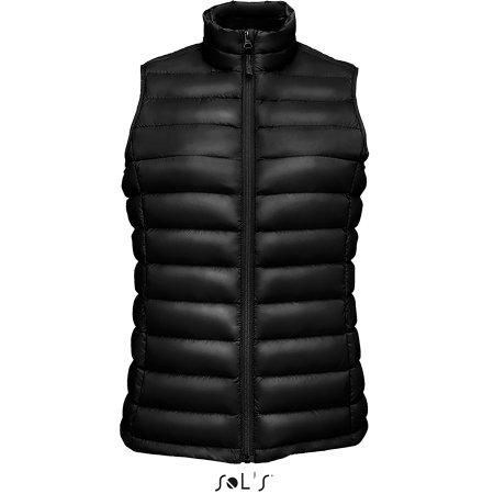 Wilson Bodywarmer Women Jacket in Black von SOL´S (Artnum: L02890