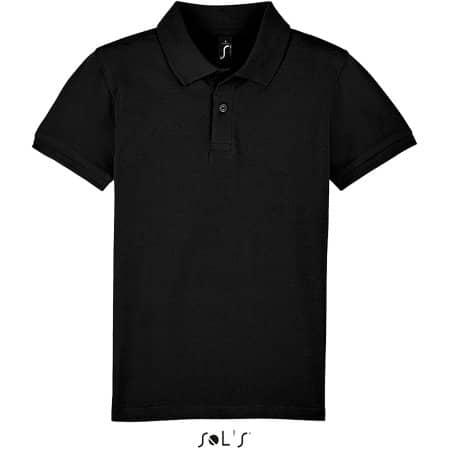 Perfect Kids Polo in Black von SOL´S (Artnum: L02948