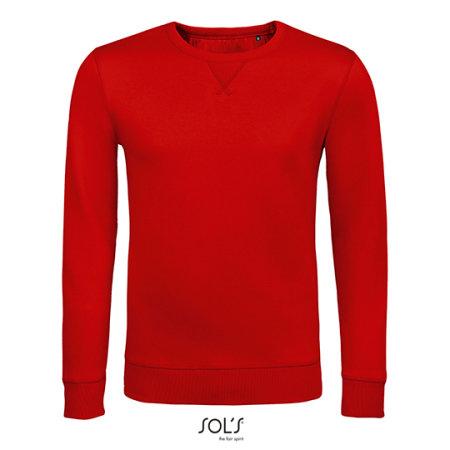 Unisex Sully Sweat in Red von SOL´S (Artnum: L02990