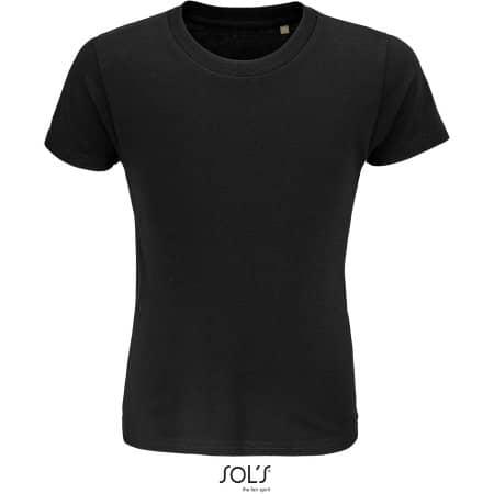 Crusader Kids T-Shirt in Deep Black von SOL´S (Artnum: L03580