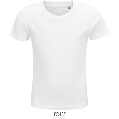 Crusader Kids T-Shirt in White von SOL´S (Artnum: L03580