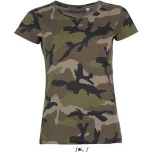 Women`s Camo T-Shirt