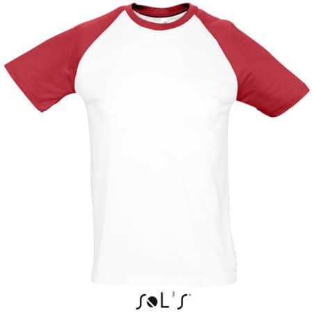 Raglan T-Shirt Funky 150 von SOL´S (Artnum: L140