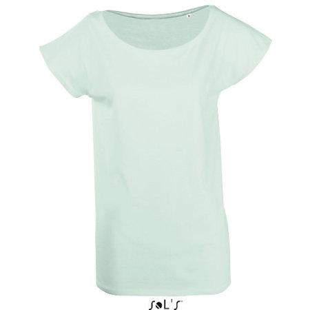 Women T-Shirt Marylin in Jade Green von SOL´S (Artnum: L161