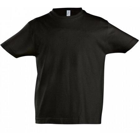 Kids` Imperial T-Shirt in Deep Black von SOL´S (Artnum: L190K