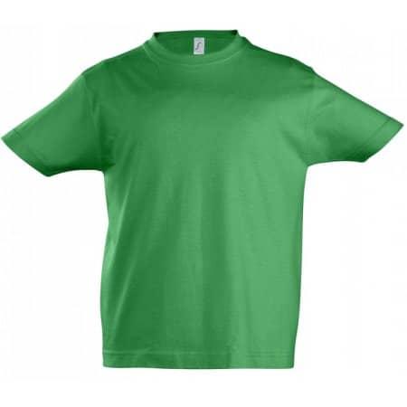 Kids` Imperial T-Shirt in Kelly Green von SOL´S (Artnum: L190K