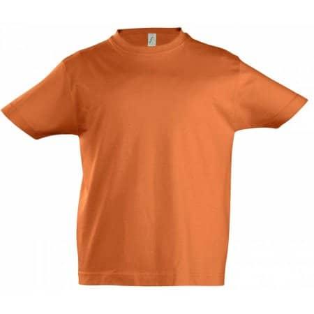 Kids` Imperial T-Shirt in Orange von SOL´S (Artnum: L190K