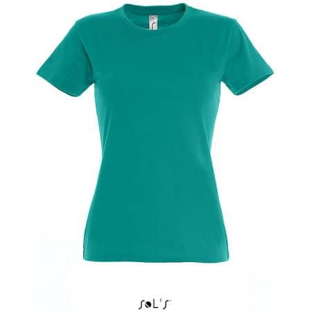 Imperial Women T-Shirt in Emerald von SOL´S (Artnum: L191