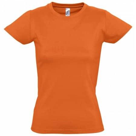 Imperial Women T-Shirt in Orange von SOL´S (Artnum: L191