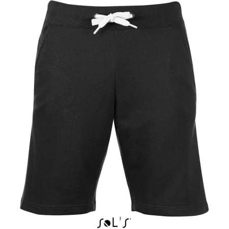 Men`s Short June in Black von SOL´S (Artnum: L233
