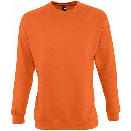 Sweatshirt New Supreme in Orange von SOL´S (Artnum: L311