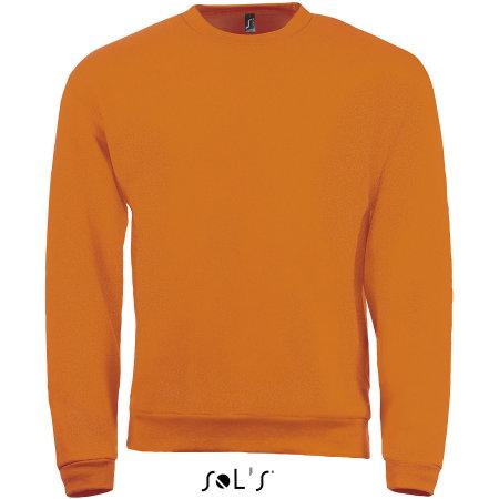 Sweatshirt Spider in Orange von SOL´S (Artnum: L326