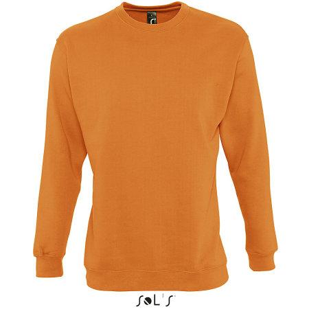 Unisex Sweatshirt Supreme in Orange von SOL´S (Artnum: L327