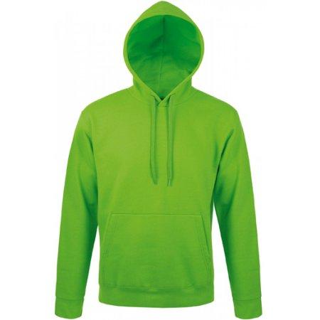 Unisex Hooded Sweat-Shirt Snake in Kelly Green von SOL´S (Artnum: L330