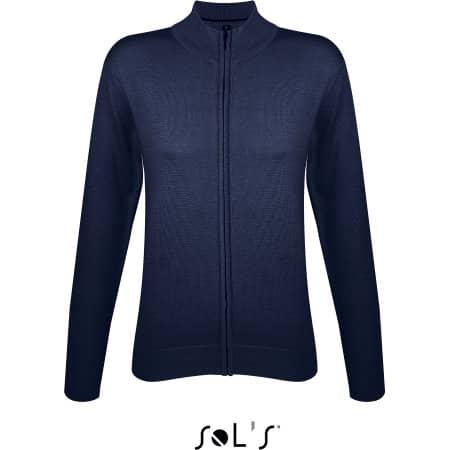 Zipped Knitted Cardigan Gordon Women von SOL´S (Artnum: L414
