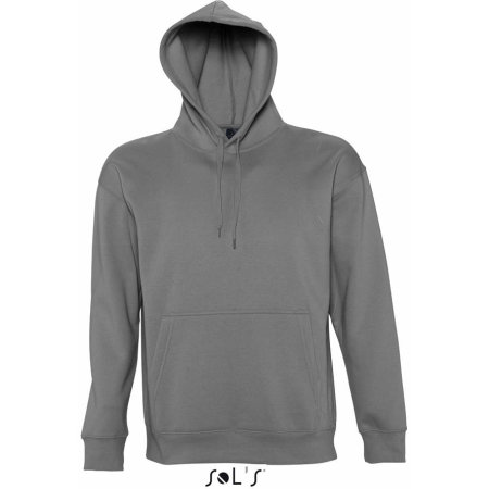 Hooded-Sweater Slam in Dark Grey (Solid) von SOL´S (Artnum: L420