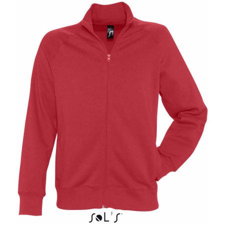 Men`s Zipped Jacket Sundae in Red von SOL´S (Artnum: L472