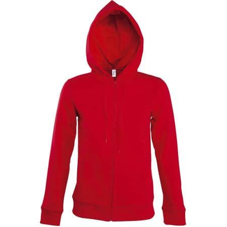 Women Hooded Zipped Jacket Seven von SOL´S (Artnum: L479