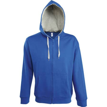 Contrasted Zipped Hooded Jacket Soul Men von SOL´S (Artnum: L480