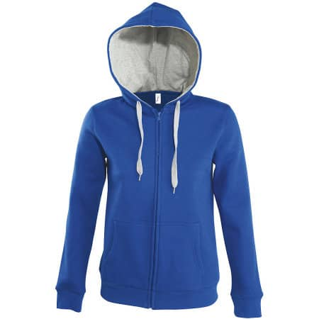 Contrast Hooded Zip Jacket Soul Women von SOL´S (Artnum: L481