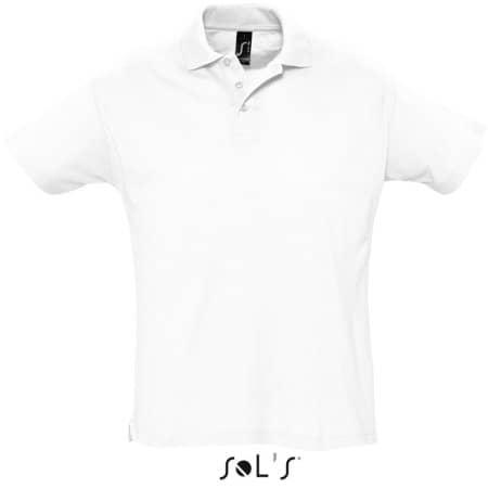 Summer Polo II in White von SOL´S (Artnum: L512