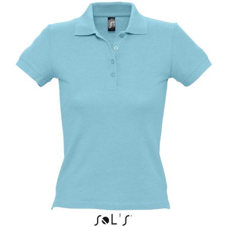 Ladies` Polo People 210 in Atoll Blue von SOL´S (Artnum: L519