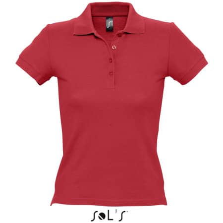 Ladies` Polo People 210 in Red von SOL´S (Artnum: L519