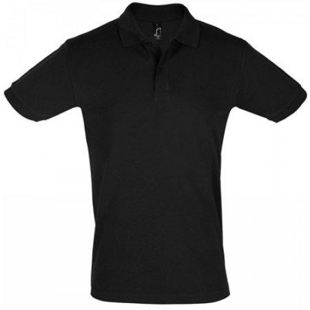 Men`s Polo Shirt Perfect in Burgundy von SOL´S (Artnum: L525