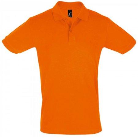 Men`s Polo Shirt Perfect in Orange von SOL´S (Artnum: L525