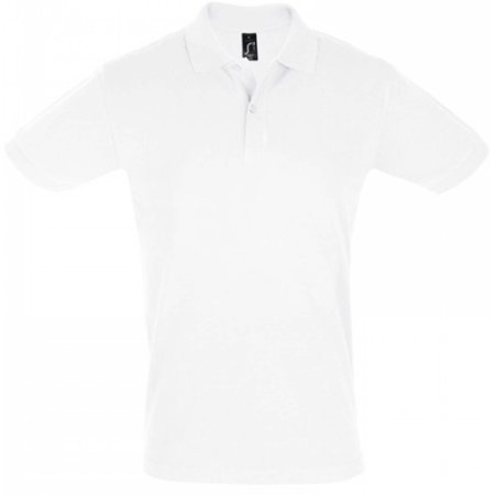 Men`s Polo Shirt Perfect in White von SOL´S (Artnum: L525