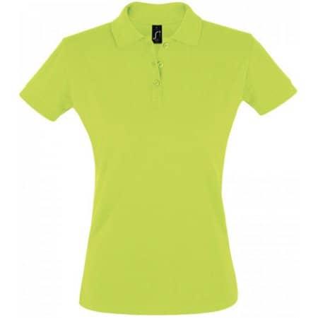 Women`s Polo Shirt Perfect in Apple Green von SOL´S (Artnum: L526
