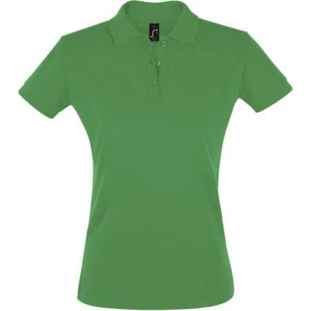 Women`s Polo Shirt Perfect in Kelly Green von SOL´S (Artnum: L526