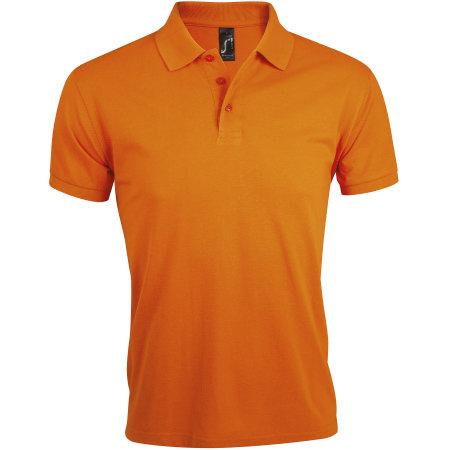 Men`s Polo Shirt Prime in Orange von SOL´S (Artnum: L527